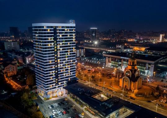 Standard One Терминал: Дизайн апарт-отеля